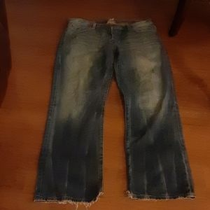 Lucky Brand men's distressed jeans 36 x 32